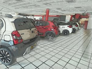 Used Car Buyers - Car Stock including Renault and Toyota on the floor