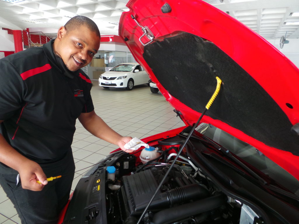 Checking your cars vitals